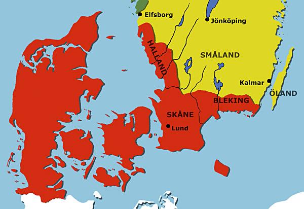 Kort Over Sverige Småland | stoffeerderijrozendal