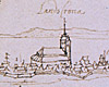 Sketch of Landskrona